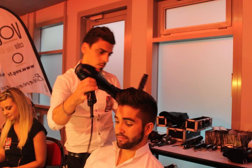 Maxime & Lidia Farrugello ont coiffé Kendji de The Voice