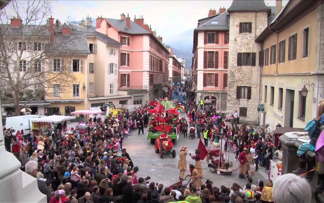 Carnaval 2017 à Chambéry, le 4 mars à 14h