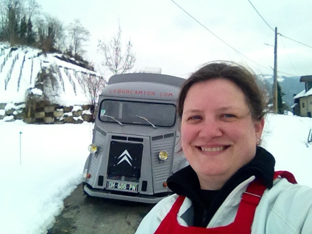 Maud Madelon aime son food truck