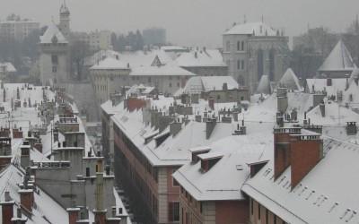 Les toits de Chambéry
