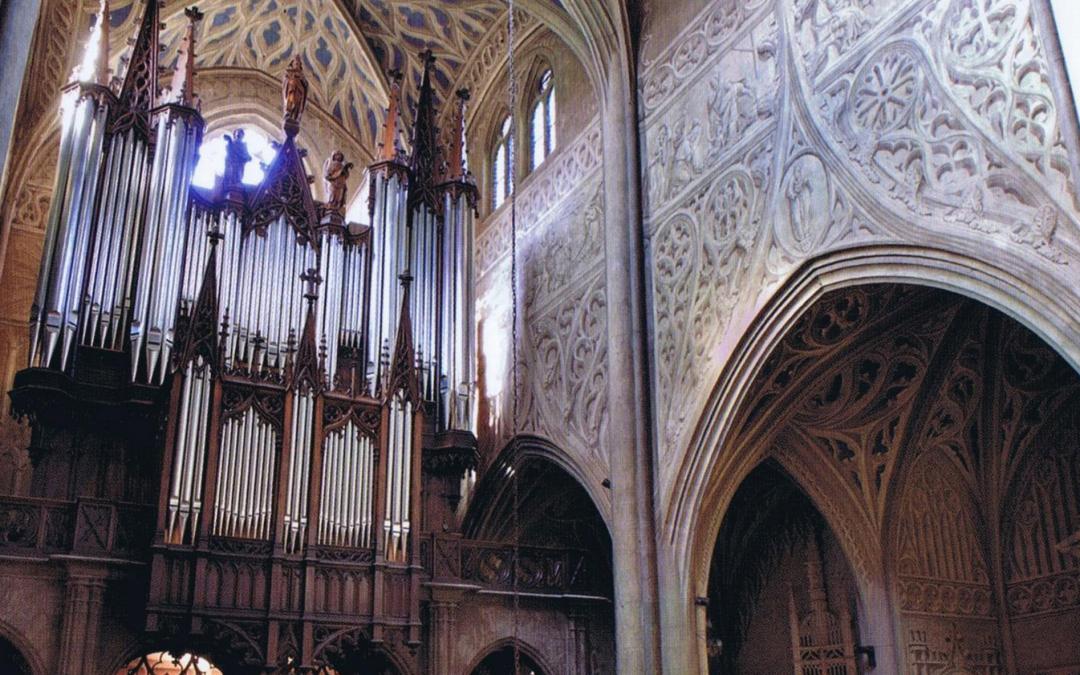 L'orgue de la cathédrale de Chambéry