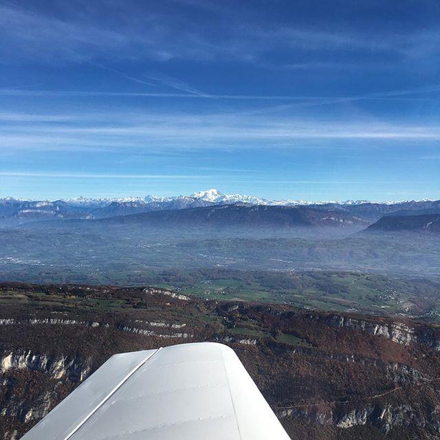 Le Mont-Blanc vu depuis Chambéry !