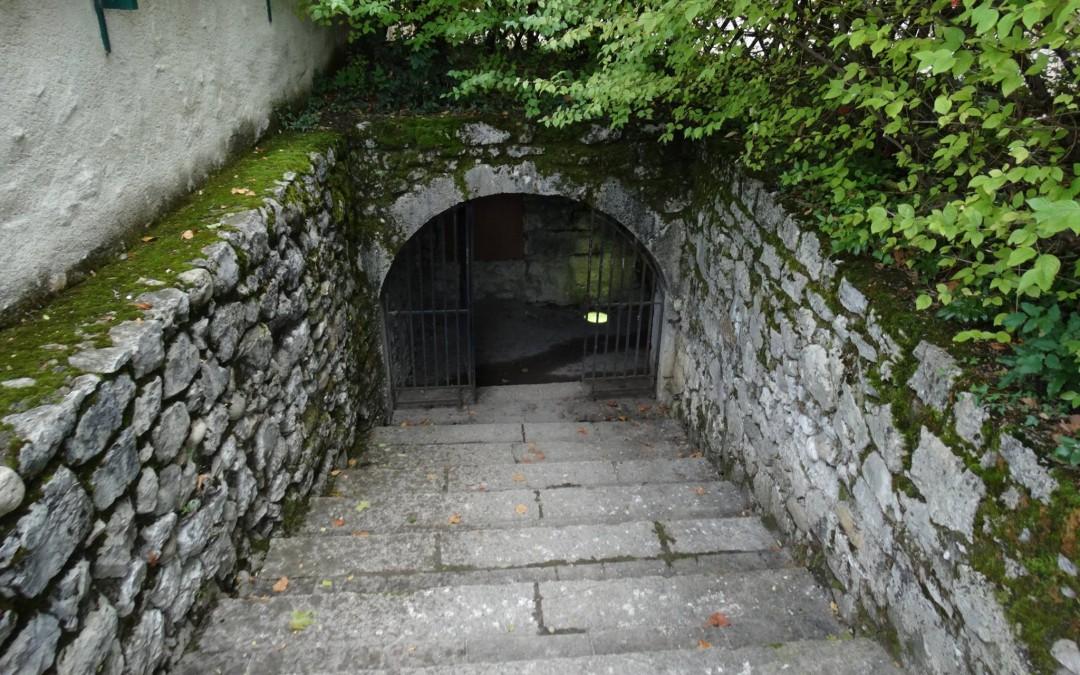 Les salles basses sous de la Tour du Donjon du Château des Ducs de Savoie