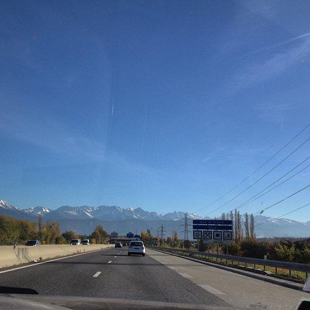 Autoroute Chambéry Grenoble