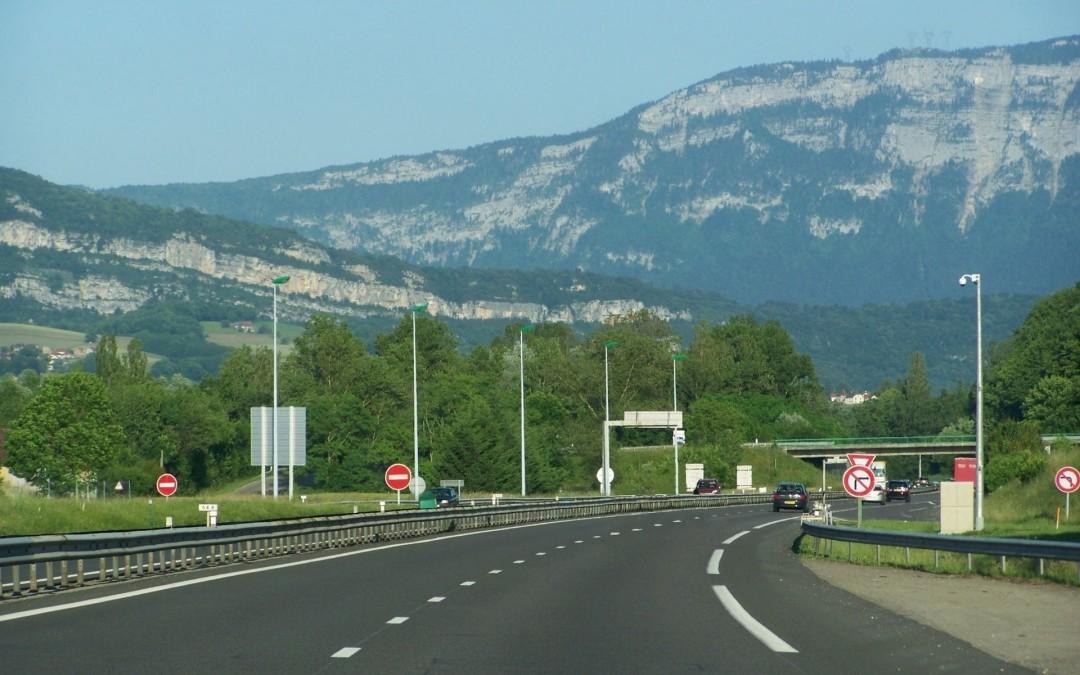 En 1972 est construite la A43 pour aller à Lyon ou en Maurienne !