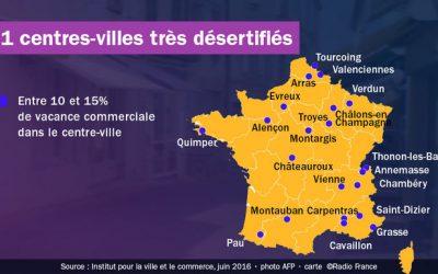 Chambéry, très touchée par la desertification des centres-villes !