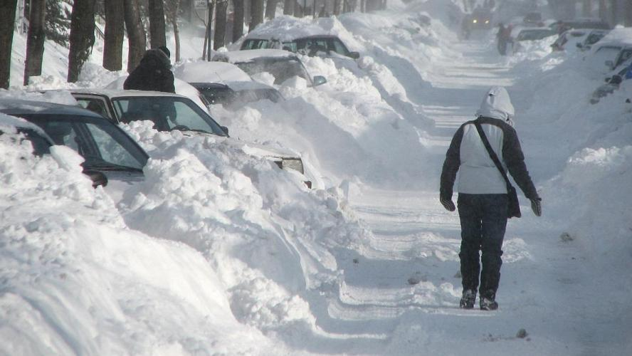 Températures polaires prévues pour l'hiver 2019-2010
