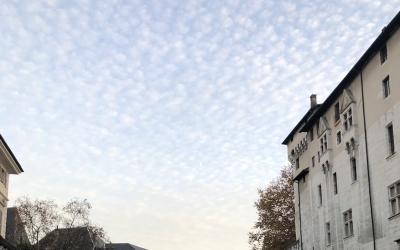 Cinq rues de poésie à Chambéry